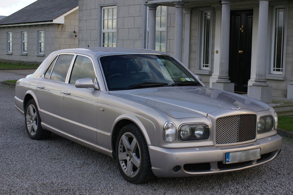 Bentley Arnage Wedding Car Hire Ireland