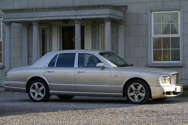 Bentley Arnage Wedding Car Hire Ireland