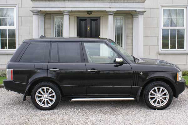 Range Rover Wedding Car Hire Ireland