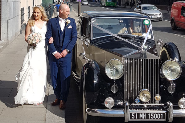 Rolls Silver Wraith Wedding Car Hire Ireland
